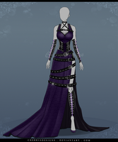 (closed) Auction Adopt - Outfit 551 by CherrysDesigns