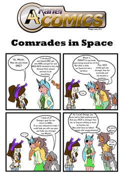 A4 Panel Comics_[s2]_Comrades in Space by A4ArtStuff