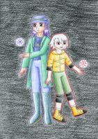 Jacaranda and Toby by NormaLeeInsane