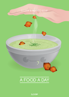 3. Leek and Potato Soup - A Food A Day by SloorpWorld