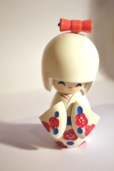 kokeshi doll. by BreakTheRecords