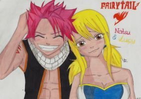 Fairy Tail Nalu by Lucy-chan90