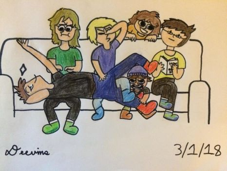 Draw the squad: Miiverse edition! by Deevins