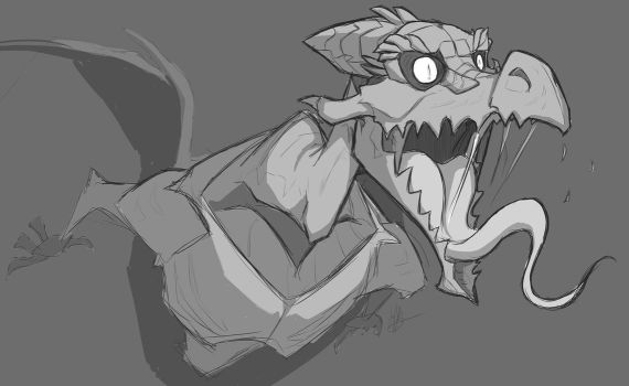 Ridley Sketch by secoh2000