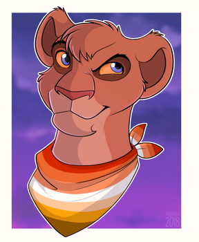 The Butch Lesbian Lioness by DetectiveRJ