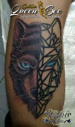 Wolf Linning Vs Realistic by Shadertattoo
