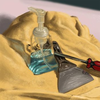Still Life - Soap and Tools by jeremyg0rd0n