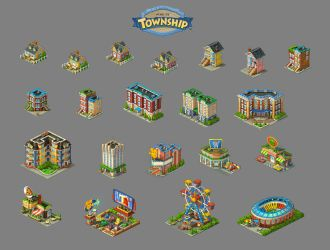 Township buildings by roma-n