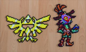 Hylian Crest + Skullkid by Aenea-Jones