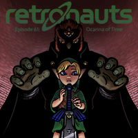 Retronauts Cover 2: Ocarina of Time by P5ych