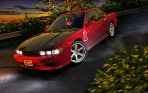 Nissan Silvia S13 by STH-pl