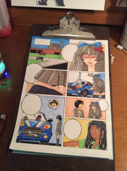 Copic colored page by Tantibus-draws