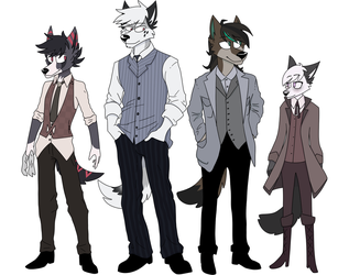 Fake Squad - Opal character concept batch by XENFORD