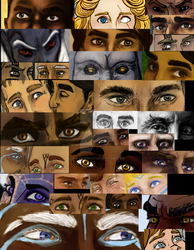 That's a lot of eyes by Mutantenfisch