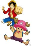 One Piece : Luffy et Chopper by Cheu-Sae