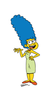 Mrs. Simpson by jmdoodle