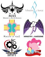 FEQ: Ministry Logo's by Jeffk38uk
