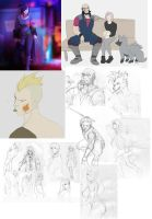 sketches 002 by Mafer