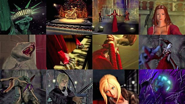 Parasite Eve 1998 by marblegallery7
