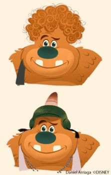 Wreck it Ralph early movie concept by danielarriaga