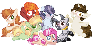 Crystalverse: CMC!!! by ThePegasisterPony