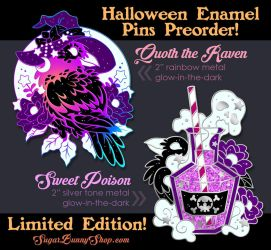 Halloween 2018 Enamel Pin Preorder by celesse