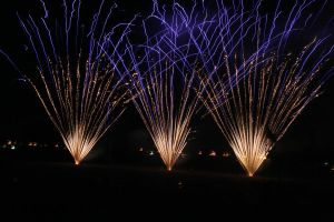 4th of July Fireworks by AmblingPhotographer