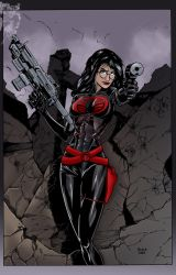 Baroness_by_waki2 Color by ColoristChris