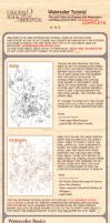 Learn Manga: Watercolor Tutorial complete by Naschi