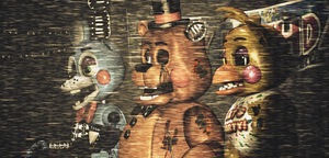 Withered Toy Animatronics by FreddyFredbear