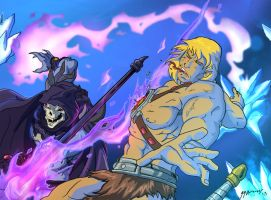 Skeletor Triumphs Redone by JazylH