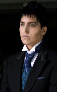 Oswald Cobblepot Cosplay by MikaPoison