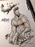 InkTober 2016 day 27 by redisoj