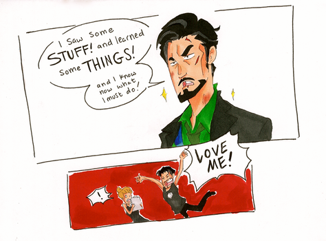 Lessons Learned: Iron Man by TheEndxTypeANIME