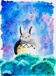 Totoro by Magic-fab