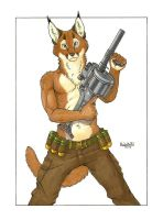 South African Six-Shooter by KalahariFox
