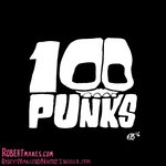 100 Punks - Illustration Series Logo by RobertMakes