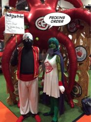 Mcm Oct 2015- Mr popo and Kami by SuperSonic3