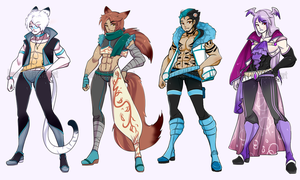 (CLOSED) Male Adoptables.o47 by Mymy-TaDa