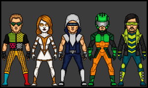 DC Extreme - The Rogues by theherocreator