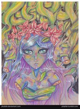 Mermaid And Roots by Phyllah