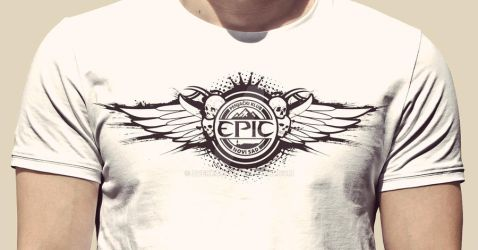 Epic - Tshirt Design by Zverko69