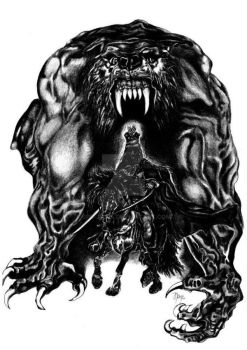 Cursed  (Ron and Werewolf) / 2012 by JPS-Jitka