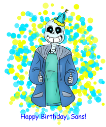 Happy Birthday, Sans! by RTNightmare