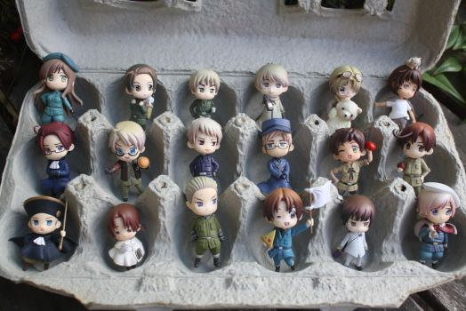Hetalia Easter by here-and-faraway
