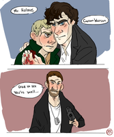 Hello there Mr. Holmes by IncenteFalconer