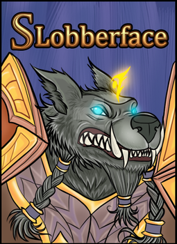 Badge Art: Slobberface by lilena