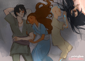 Zutara Month 2014 [2. Sleep] by yume-darling