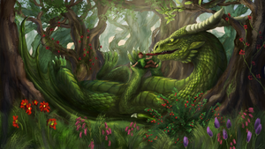 ~Magic Forest - Commission by UnicornCat