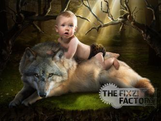 Faelan - Wolfboy by MadameThenadier